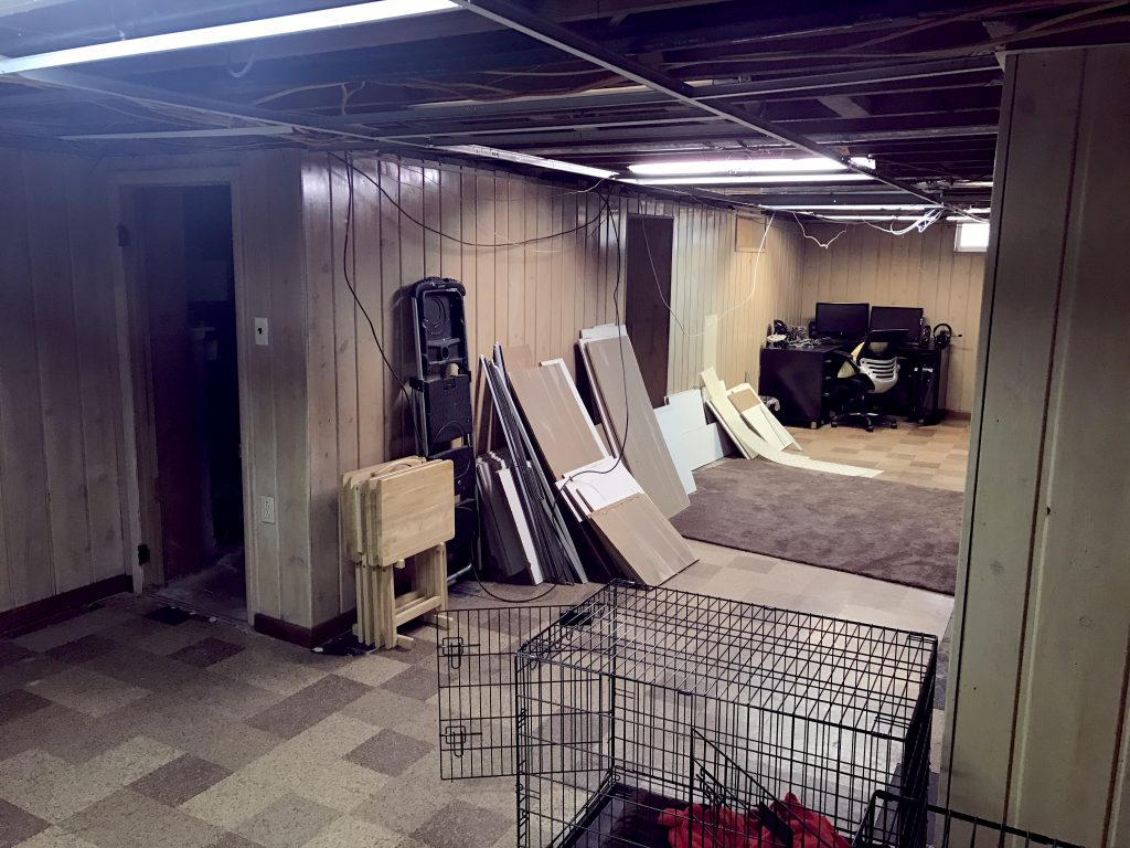 Demolition In The Basement Begins And So Does A Design Dilemma