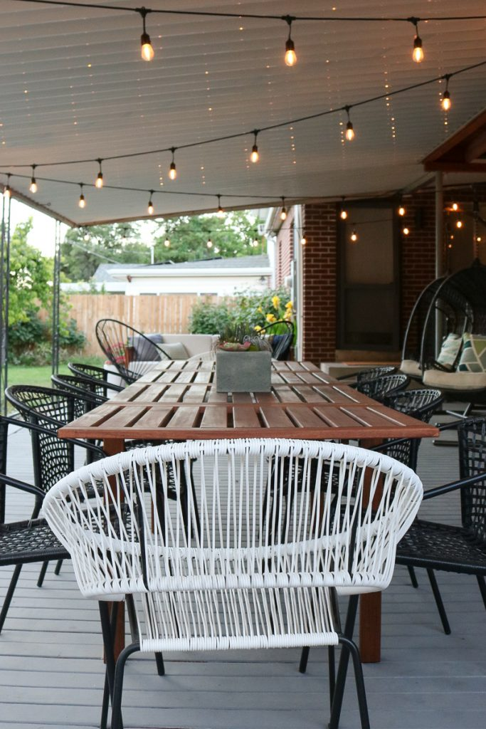 Deck Dining Area 2