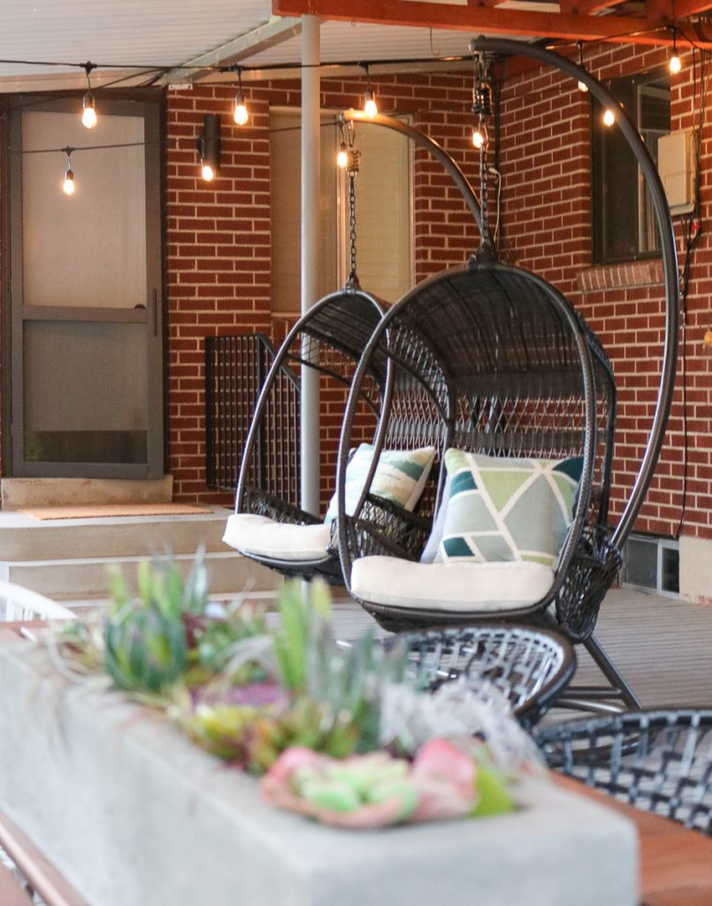 Deck Hanging Chairs 2