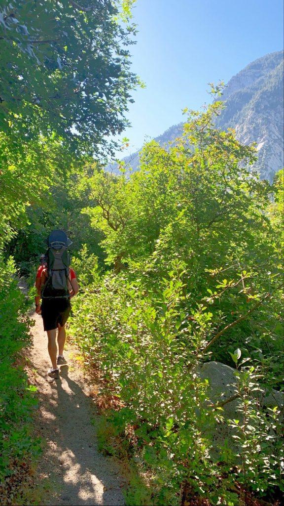 Hiking the Alpenbock Loop in Littlecottonwood Canyon in Sandy, Utah